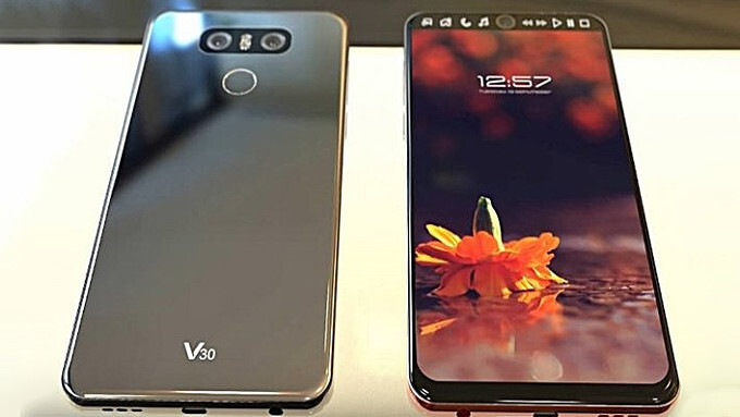 Mock-up of the LG V30 - LG V30 price and release date: Here's everything we know so far