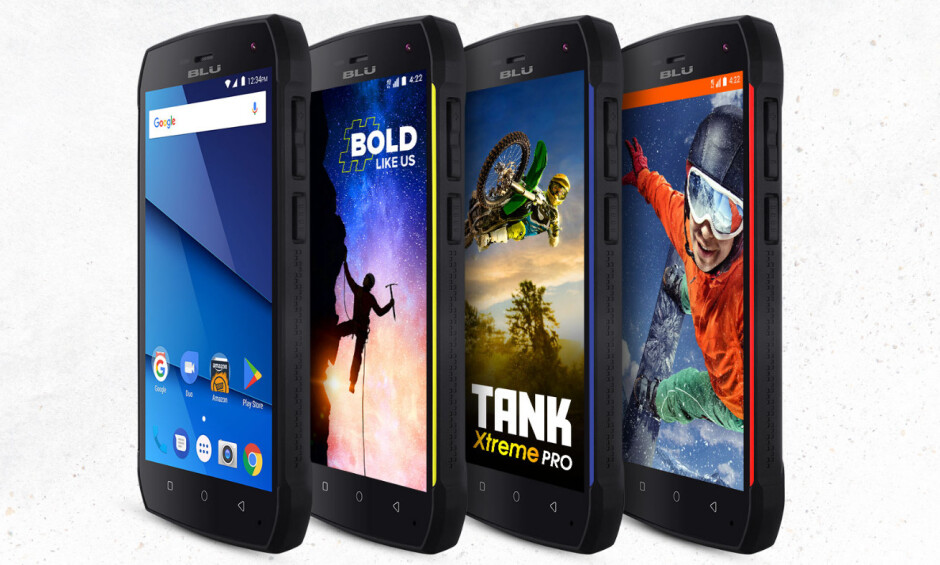 BLU Tank Xtreme Pro ultra-rugged smartphone quietly introduced in the US