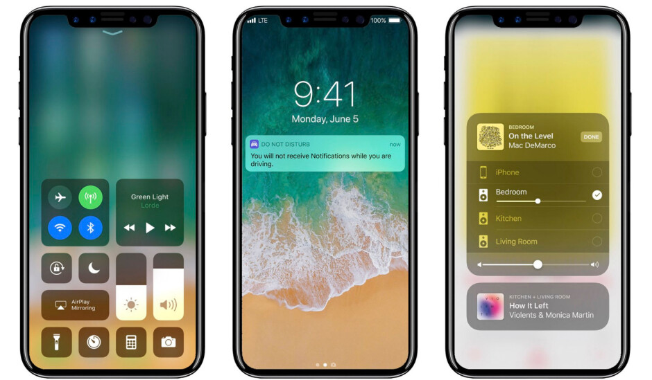 iPhone 8 concept (via Slashleaks - Mass production of Apple's OLED iPhone reportedly delayed to November-December