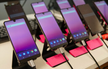 The Essential Phone being tested for reliability in the company's labs – one of the several posts Essential has been teasing us with over the past weeks