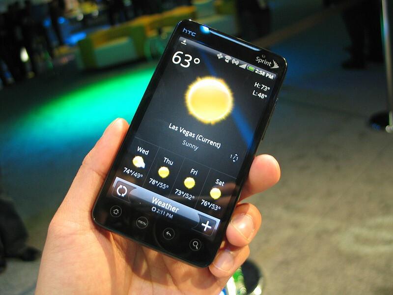 HTC EVO 4G - CTIA 2010: Live Report