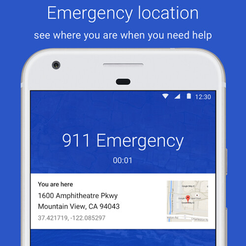 Google dialer on the Pixel, Nexus now shows you your location when you dial 911