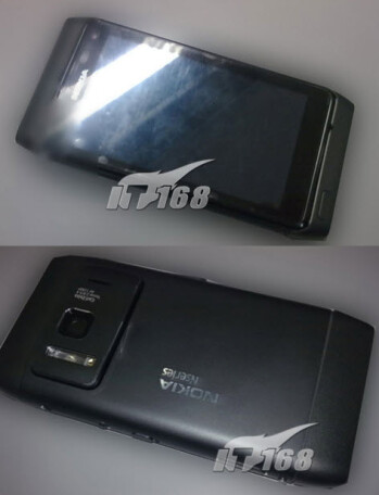 Spy pics of the Nokia N8-00 surface