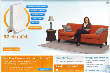 AT&T's 3G MicroCell goes nationwide the middle of next month