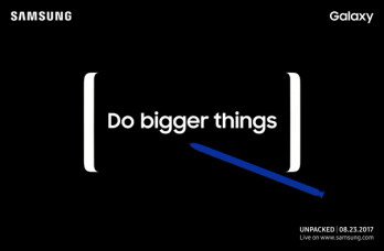 Official Samsung Unpacked invite confirms Infinity Display and S Pen for the Note 8.