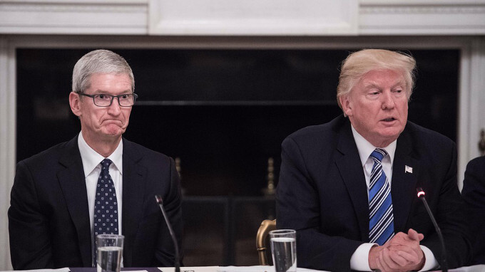 Surveillance, immigration, tax reform: Apple spends a record amount on lobbying Trump