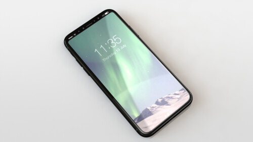 Case maker renders of the upcoming iPhone 8 design