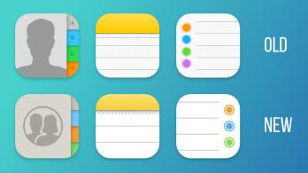 ios定位图标_Some stock Apple apps score redesigned icons in iOS 11 Beta 4 - PhoneArena