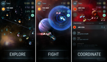 Hades' Star is a mobile MMO strategy, which kind of reminds us of EVE Online