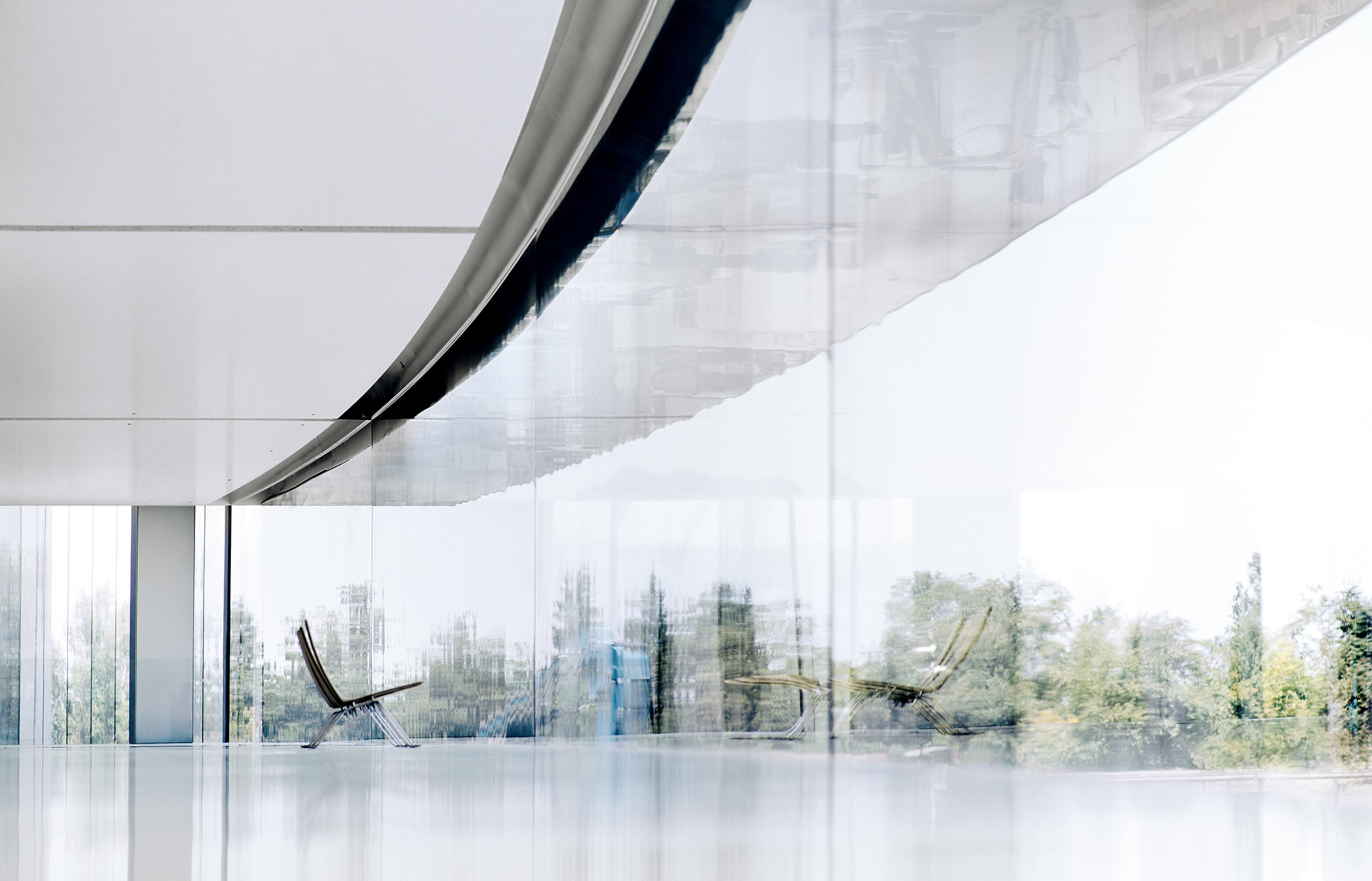 Hall design intends to bring employees closer to nature