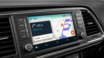waze is finally available on android auto phonearena. Black Bedroom Furniture Sets. Home Design Ideas