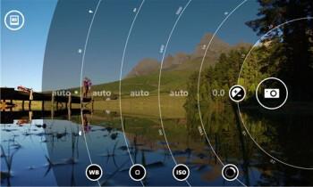 Lumia Camera UI