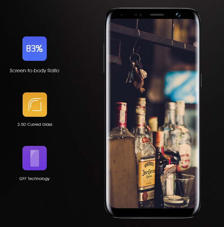 The Bluboo S8: dual camera, slim bezels, slimmer price tag