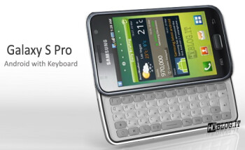 Mock-up of Galaxy S Pro courtesy of AndroidHDBlog