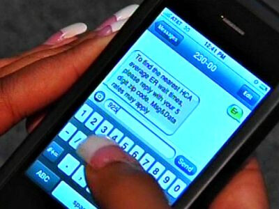 Hospital implements SMS feature to inform patients of emergency room wait times