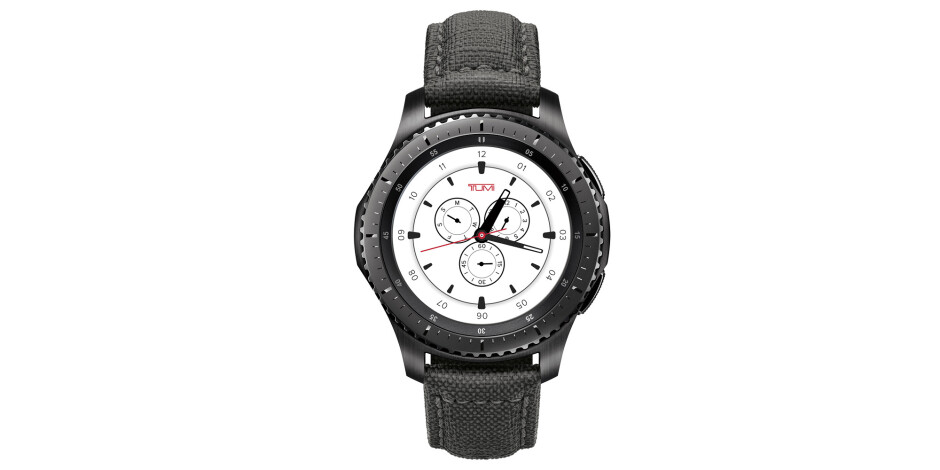 Samsung Gear S3 frontier TUMI Special Edition - Samsung launches the Gear S3 TUMI Special Edition smartwatch for $449.99