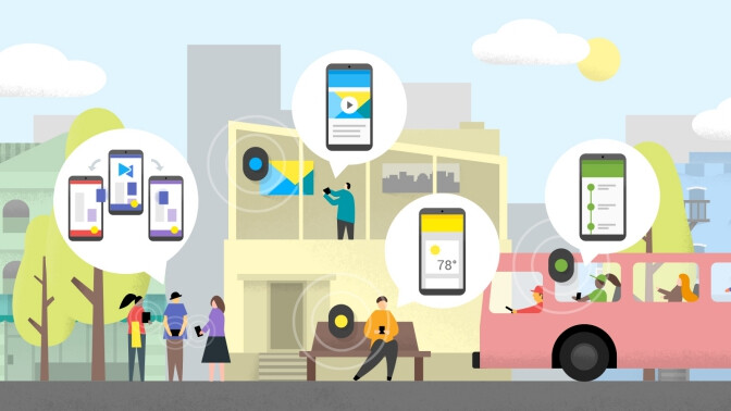 Google's Nearby 2.0 released, enabling offline communication, media sharing, and more