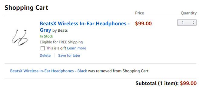 Deal: BeatsX wireless in-ear headphones cost less than $100 on Amazon