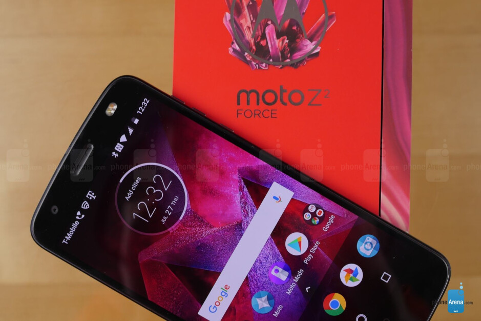 """The Moto Z2 Force Edition's """"unbreakable"""" screen can be scratched by a fingernail"""