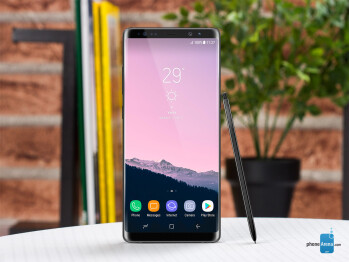 Galaxy Note 8 vs the top big phones on the market: a size comparison