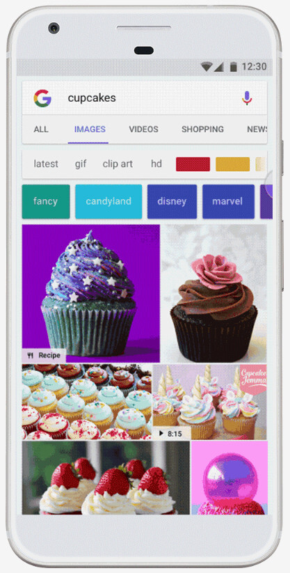 Google adds new badges to Image Search on Android to help you find the right info