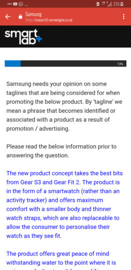 Samsung confirms it's working on a new wearable device, not a full-fledged smartwatch