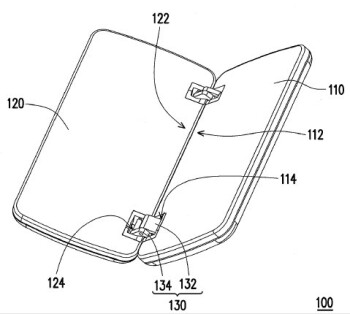 HTC applying for a patent that involves a new hinge design