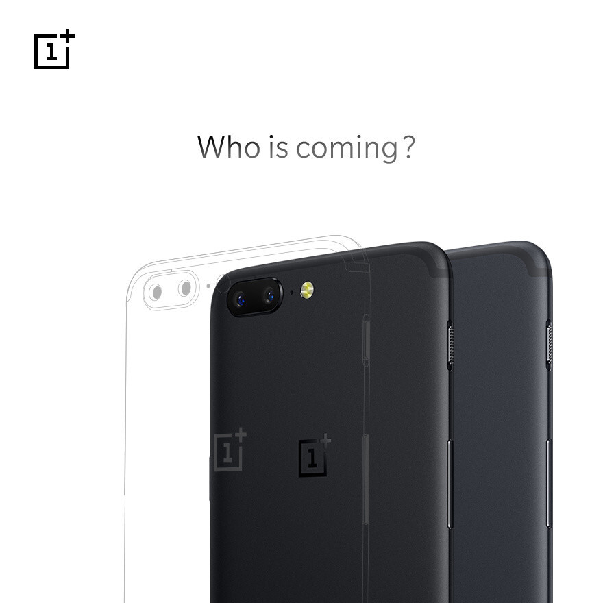 OnePlus 5 teaser image - OnePlus 5 new color option gets teased, different specs coming as well?