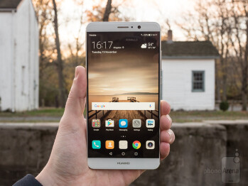 Huawei's latest offering in the Mate series, the Mate 9