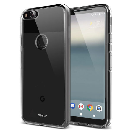 Olixar cases for the Pixel 2 pop up, renders of the phone included
