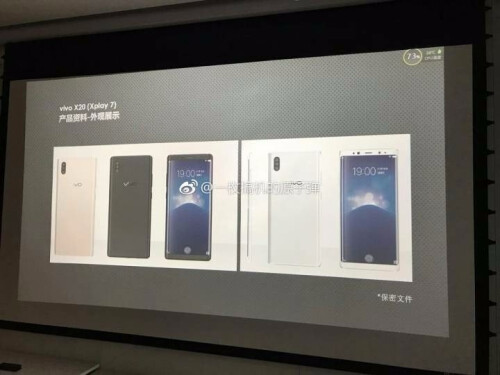 Meet the first smartphone with on-screen fingerprint scanner... oh, it also packs 3 cameras at the back