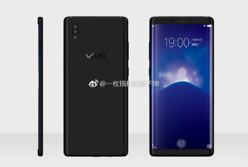 Vivo Xplay 7 renders