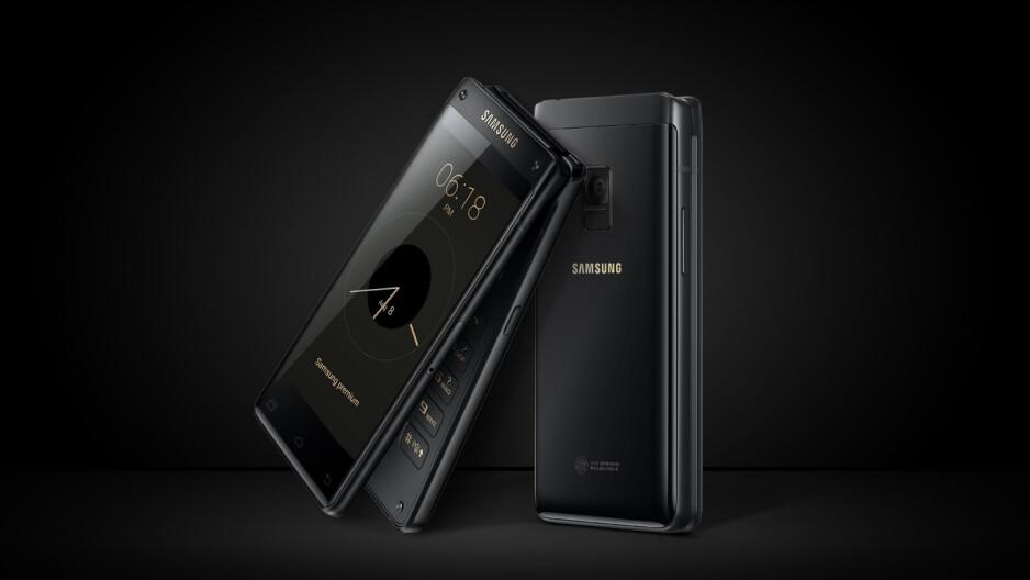 Meet the exotic new Samsung flip phone