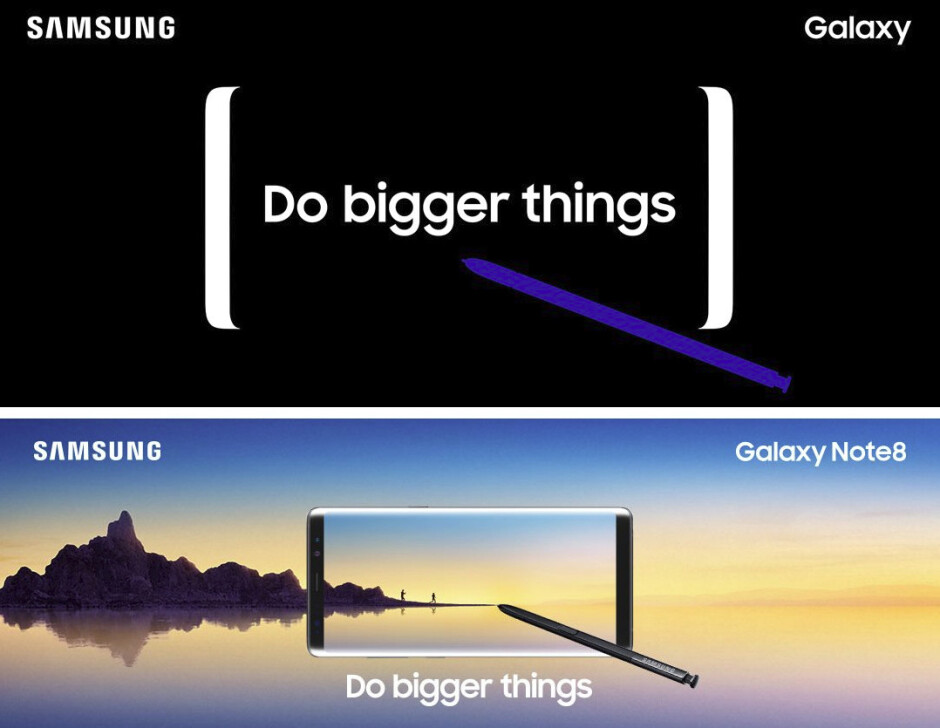 Here is another unreleased Samsung Galaxy Note 8 teaser image