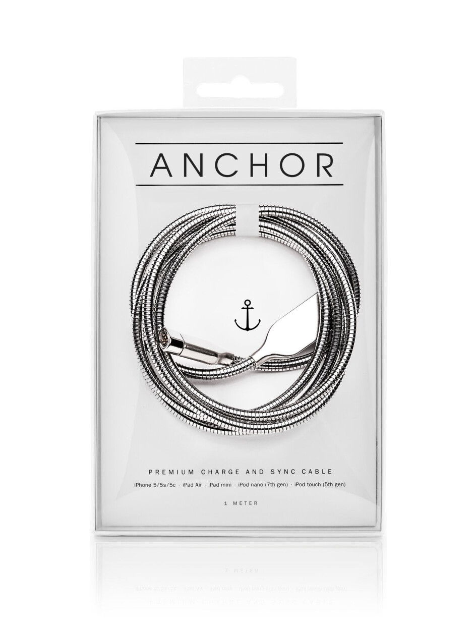 The Anchor Cable box - This one ingenious magnetic cable will charge all of your mobile devices