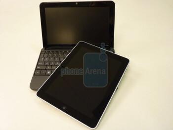 Apple iPad and HP netbook