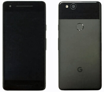 Real Google Pixel 2 photo apparently leaks out, dual speakers visible