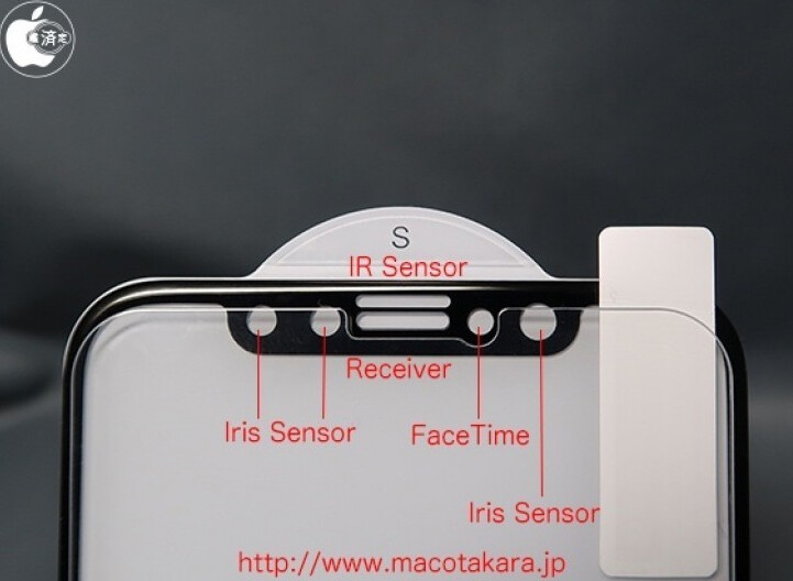Alleged labeling of the sensors being deployed by Apple on the iPhone 8 - Apple iPhone 8 display assembly leak could be another sign not to expect Touch ID on the model