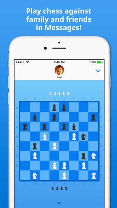 Free Apple App of the week is iMessage chess game Checkmate!