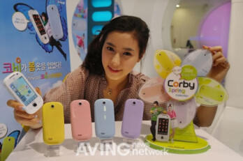New paint jobs offered in Samsung's Corby Spring Edition handsets