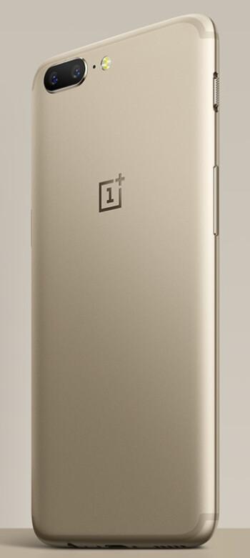 Soft gold OnePlus 5