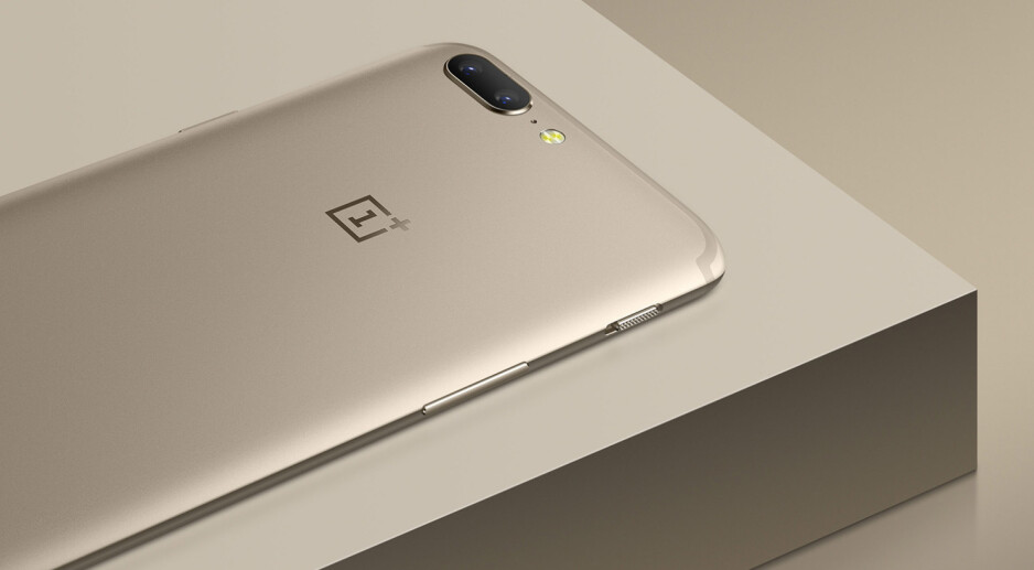 OnePlus has improved its manufacturing process for a 30% finer finish on the new gold OP5 - OnePlus 5 is now available in lush Soft Gold