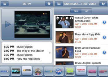 SPB TV now available for the iPhone and WebOS handsets