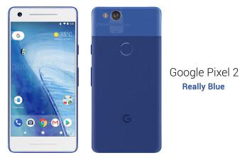 Google Pixel 2 in Really Blue