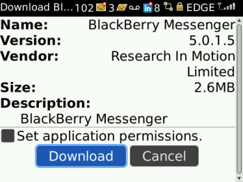 BlackBerry Messenger 5.0.1.5 ready for download in Beta Zone