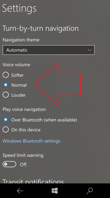 Update to Windows Maps adds new volume control for the voices used on the app - Update to Windows Maps allows users to change vocal volume control