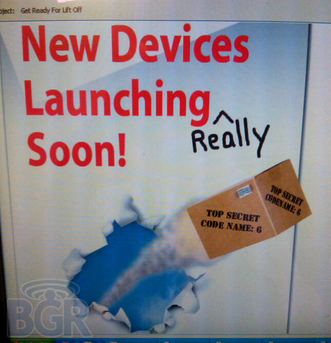 UPDATED: Verizon alerts employees about new devices launching really soon