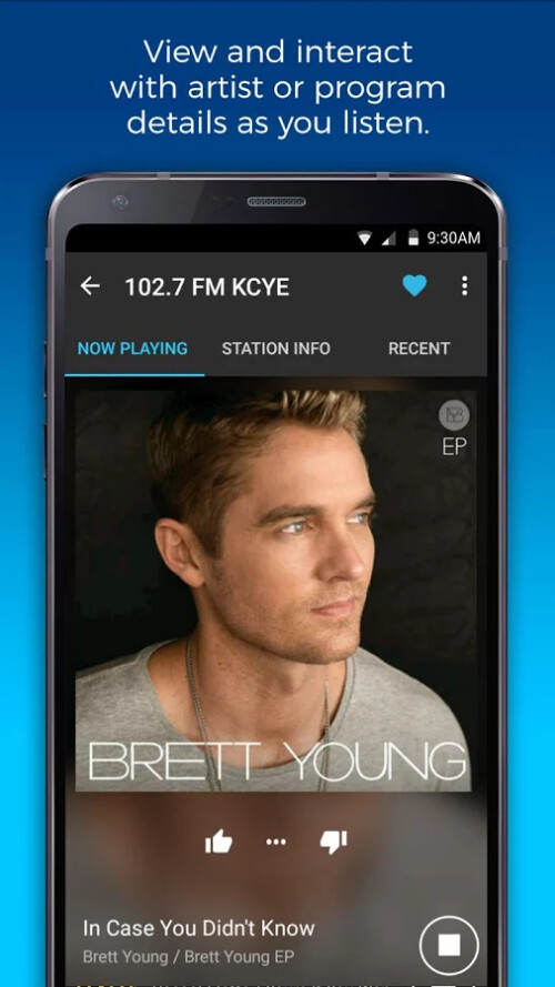 NextRadio app