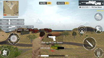 Android and iPhone games like Player Unknown Battlegrounds, H1Z1, Rust