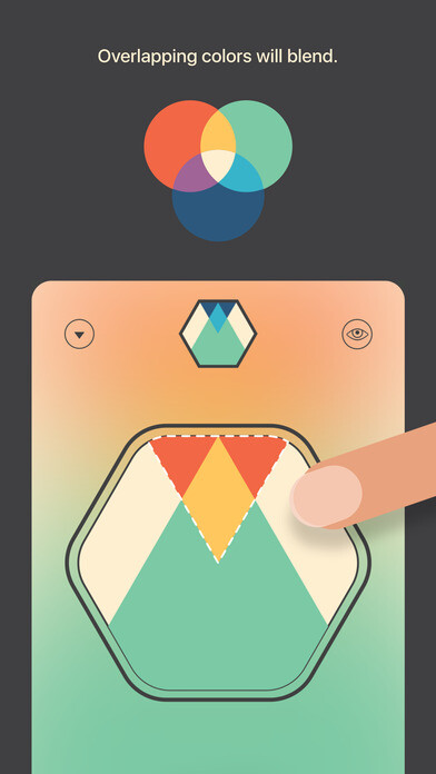 Directions on how to play Colorcube, the current Free Apple App of the Week